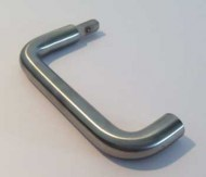 Morso Stainless Steel Door Handle